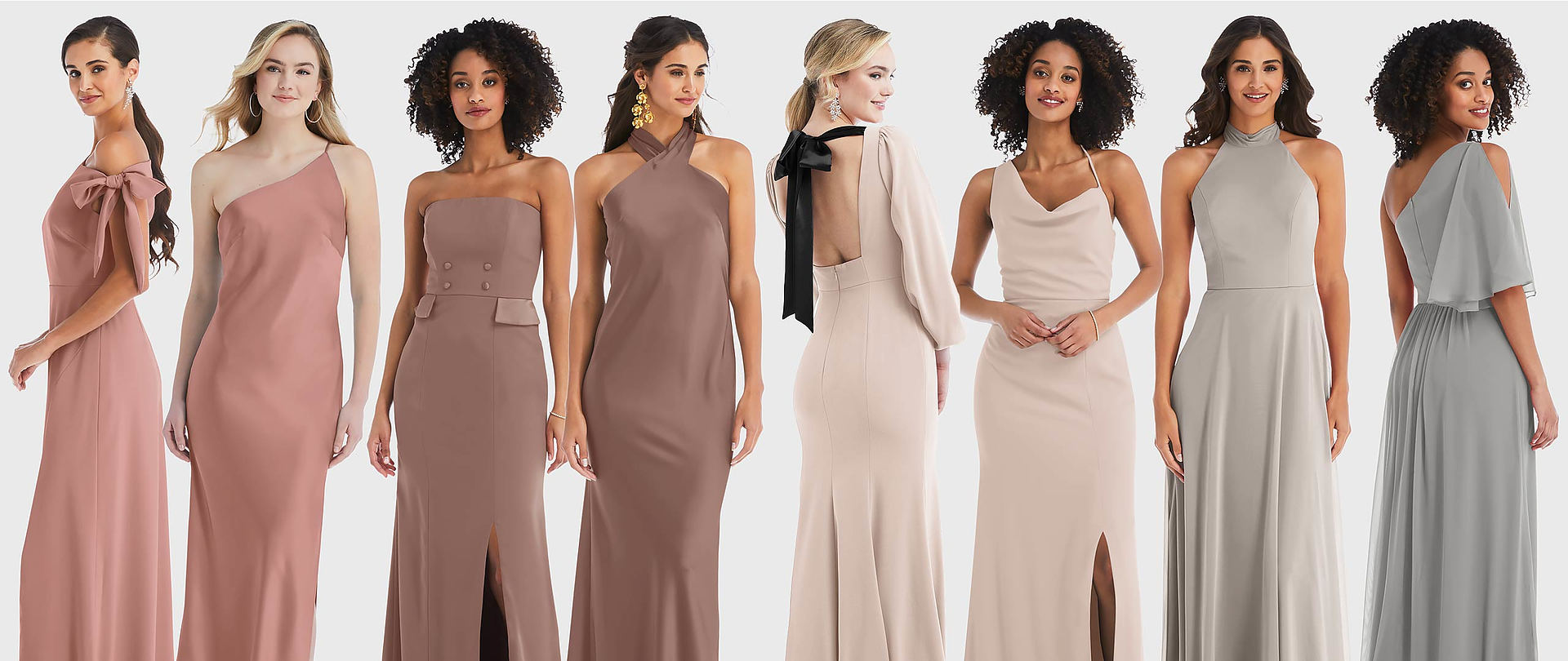 Mix and Match Bridesmaid Dresses for Spring 2021